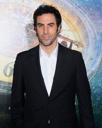 Sacha Baron Cohen, November 21, 2011.