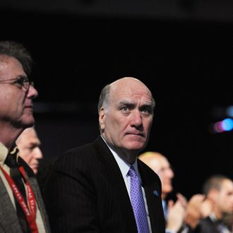 White House Chief of Staff Bill Daley is seen May 22, 2011 during the American Israel Public Affairs Committee (AIPAC) Policy Conference 2011 at the Walter E. Washington Convention Center in Washington, DC. AFP PHOTO/Mandel NGAN (Photo credit should read MANDEL NGAN/AFP/Getty Images)