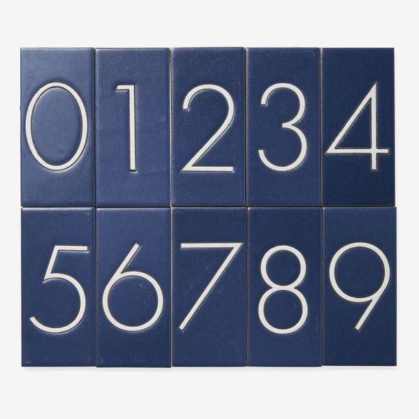 Serena & Lily House Number Tiles