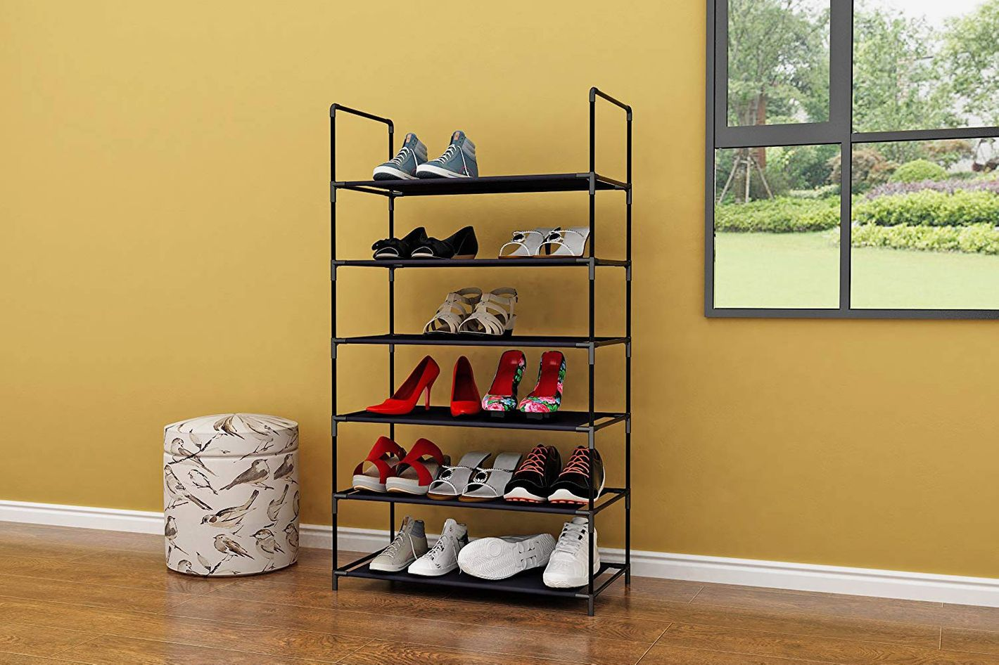 Homebi 6-Tier Shoe Rack