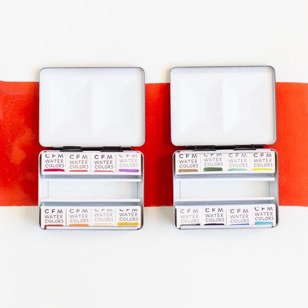 Case for Making 8 Color Travel Set