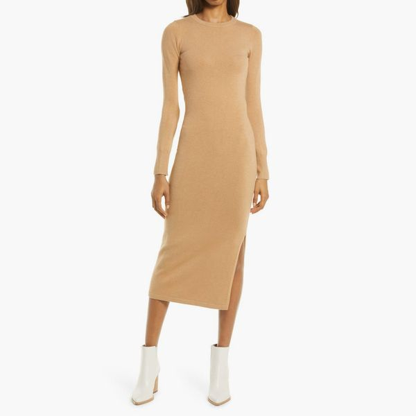 French Connection Babysoft Mock Neck Sweater Dress