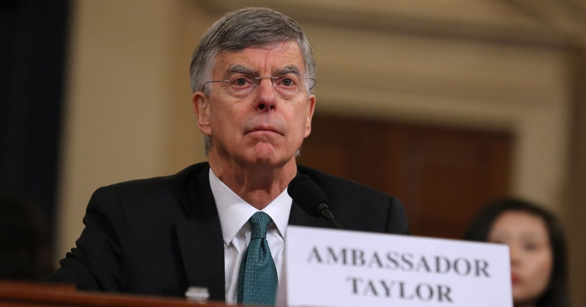 Taylor Drops a Potential Bombshell in Impeachment Hearings