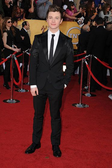 LOS ANGELES, CA - JANUARY 29:  Actor Chris Colfer arrives at the 18th Annual Screen Actors Guild Awards held at The Shrine Auditorium on January 29, 2012 in Los Angeles, California.  (Photo by Steve Granitz/WireImage)