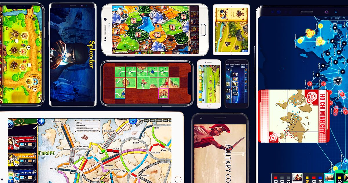 The 25 Best Board-Game Mobile Apps