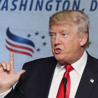 Donald Trump Addresses Faith And Freedom Coalition Road To Majority Conference