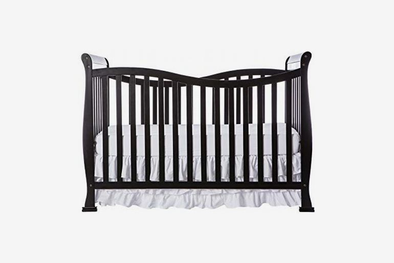 Dream On Me Violet 7-in-1 Convertible Life Style Crib, Black