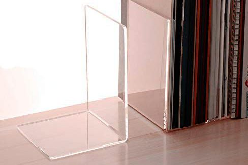 CY Craft Clear Acrylic Bookends
