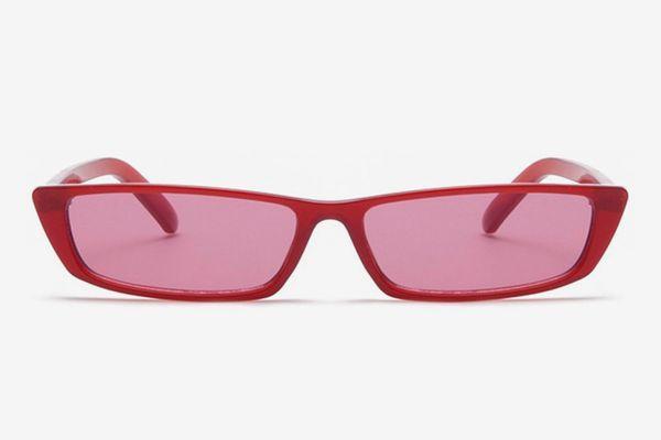 Gobiger Rectangle Small Frame Sunglasses