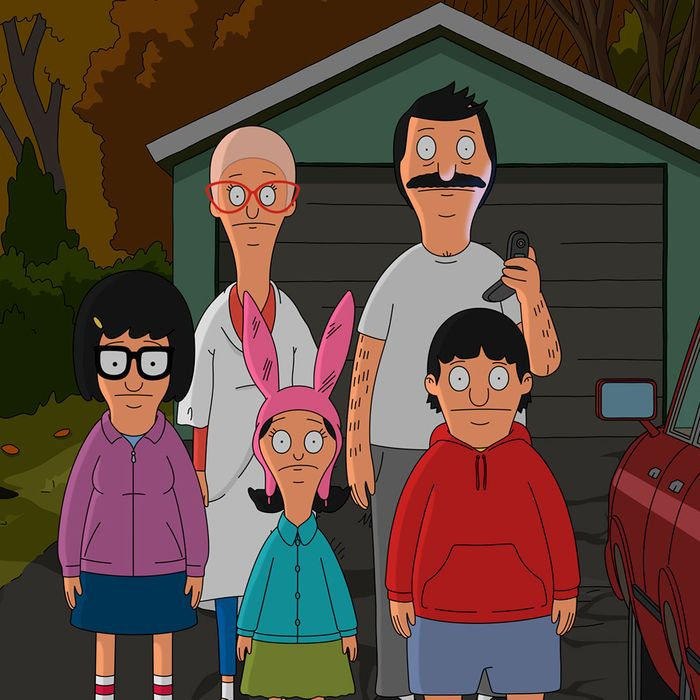 "BOB'S BURGERS: When the Belchers set out to visit a spooky haunted house they find themselves in a zany situation more frightening than they bargained for! Don't miss the all-new ""Hauntening"" episode of BOB'S BURGERS airing Sunday, Oct. 18 (9:00-9:30 PM ET/PT) on FOX. BOB'S BURGERS ™ and © 2014 TCFFC ALL RIGHTS RESERVED."