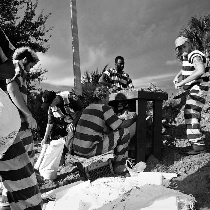 Prison inmates.