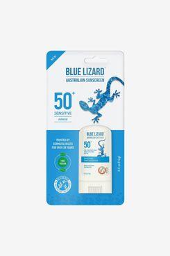 Blue Lizard Sensitive Sunscreen Stick, SPF 50 – 0.5oz