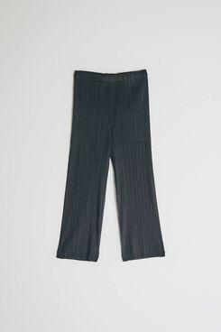 Pleats Please Issey Miyake Cropped Basics Pant