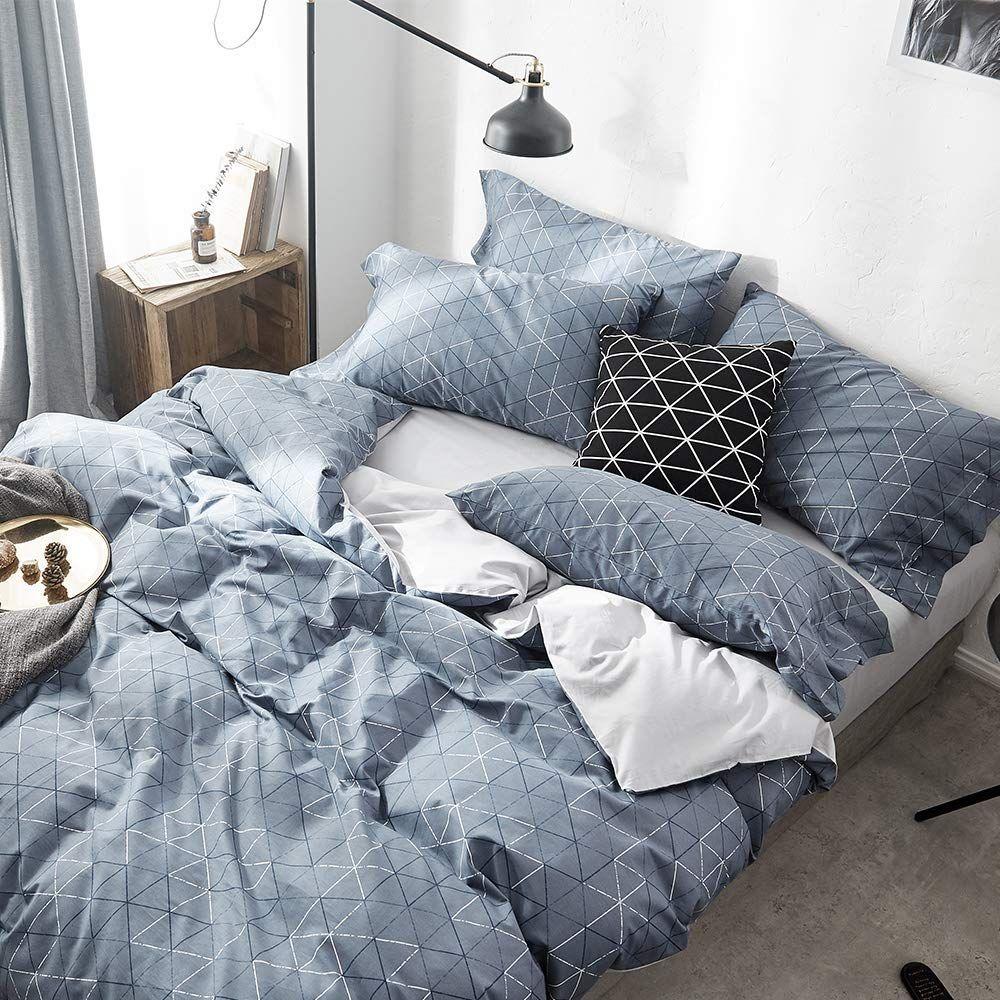 Vougemarket 3-Piece Duvet Cover Set With 2 Pillow Shams