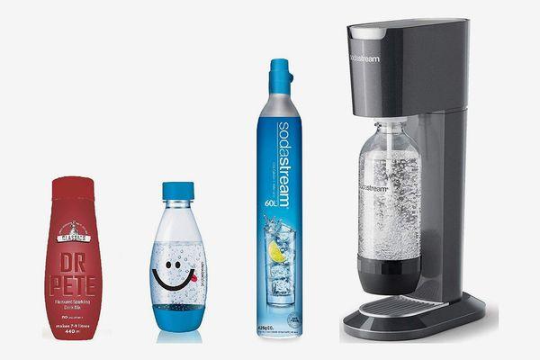 SodaStream Genesis Sparkling Water Maker Bundle, Black