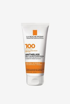 La Roche-Posay Anthelios Melt-in Milk Body & Face Sunscreen Lotion SPF 100