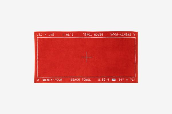 A24 Widescreen Beach Towel