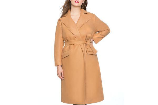 Tie Waist Robe Coat