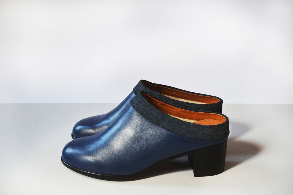 Collared Mule — Navy