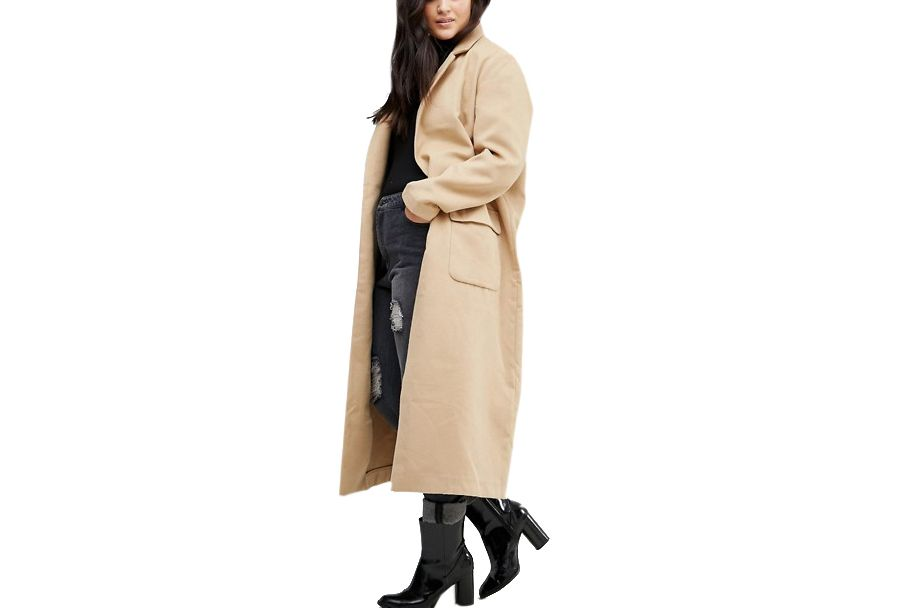 Alice & You Camel Cocoon Coat