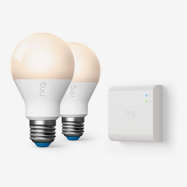 Ring A19 Smart LED Bulb (Starter Kit: 2-pack)