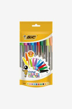 BIC Cristal Multi Colour Ballpoint Pens