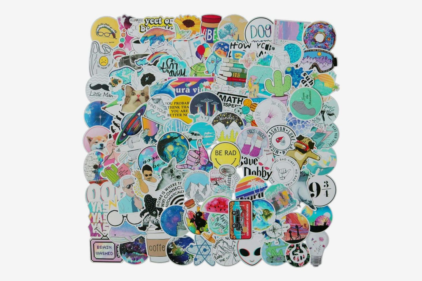 FXBUY 100 PCS Mixed Stickers