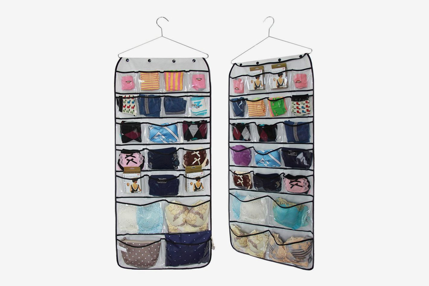 Misslo Hanging Closet Dual-Sided Organizers, 42 Pockets
