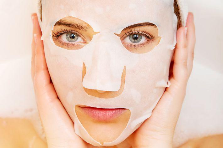 Facial face masks