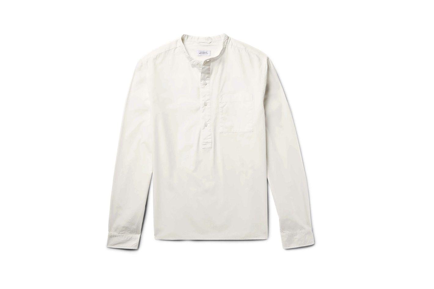 Saturdays NYC Dimitri Cotton-Voile Shirt