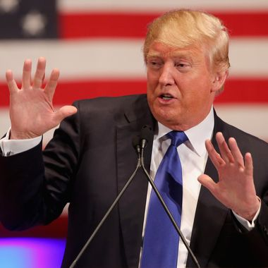 Donald Trump Holds Event To Benefit Veterans On Night Of GOP Debate
