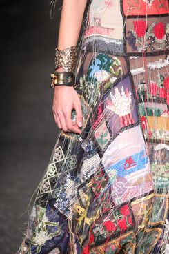 Sarah Burton Made Medieval Modern at Today's McQueen Show