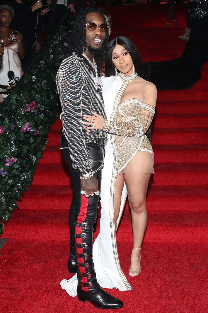 Cardi B And Offset Welcome Baby Girl With Most Interesting: Cardi B Hosts Birthday Party For Fiancé Offset