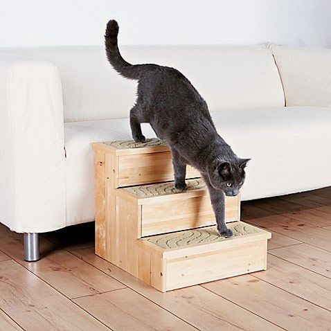 Trixie Wooden Pet Stairs in Natural