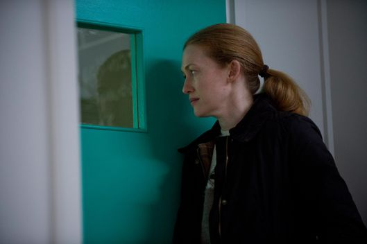 Sarah Linden (Mireille Enos) - The Killing _ Season 3, Episode 9 - Photo Credit: Cate Cameron/AMC