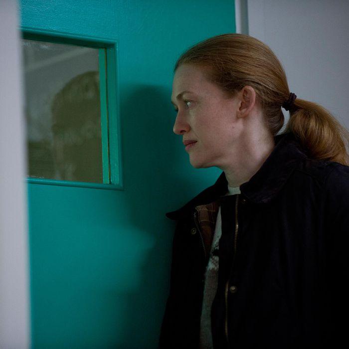 Sarah Linden (Mireille Enos) - The Killing _ Season 3, Episode 9 - Photo Credit: Cate Cameron/AMC
