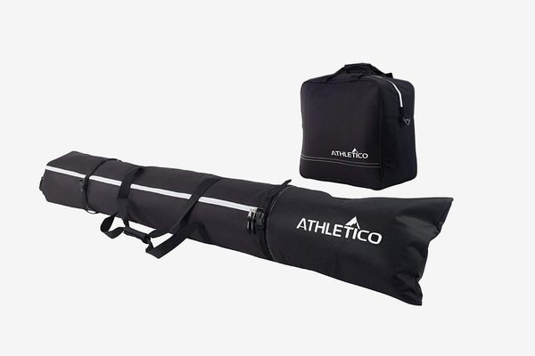 Athletico Padded Two-Piece Ski and Boot Bag Combo
