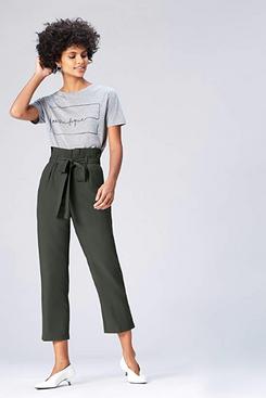 find. Women's Paperbag Waist Trouser