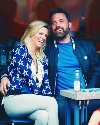 Lindsay Shookus and Ben Affleck.