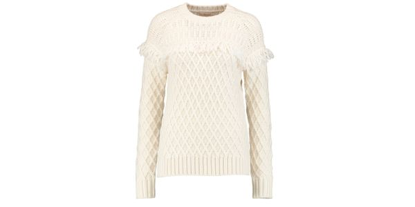 Tory Burch Fringed Sweater