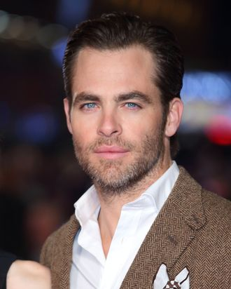 LONDON, ENGLAND - JANUARY 20: Chris Pine attends the UK Premiere of