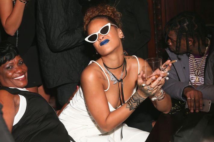 Our Lady Rihanna.