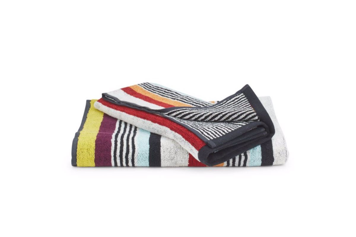 Missoni Home Striped hand and bath towels