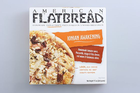 "<b>Ionian Awakening</b>    <a href=""http://americanflatbread.com/frozen-flatbread/varieties/"">American Flatbread</a>    This pick comes from the beloved Vermont company that just opened a <a href=""http://newyork.grubstreet.com/2013/01/american-flatbread-hearth-pizza-opens-tribeca.html"">gorgeous, brand-new restaurant in Tribeca</a>."