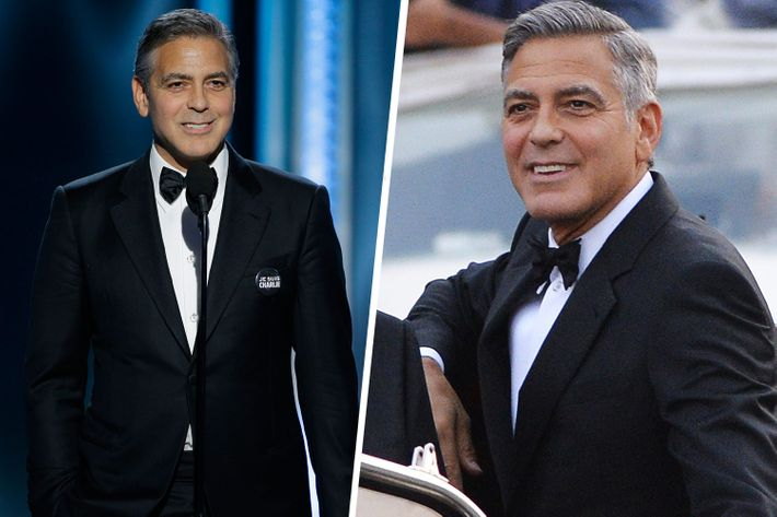 George Clooney Re-Wore His Wedding Tux to the Golden Globes