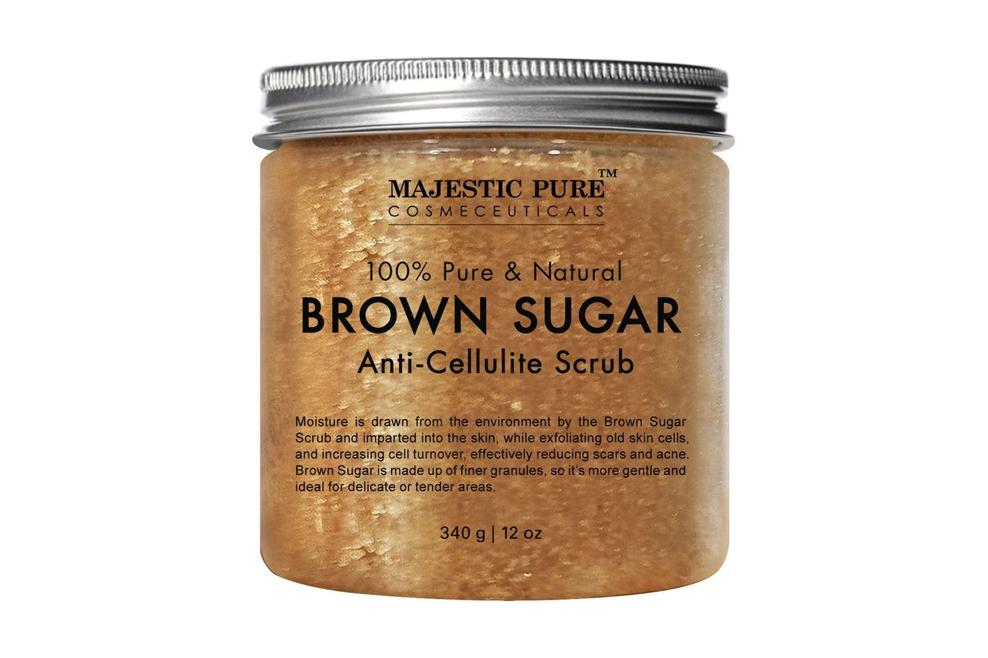 Majestic Pure Brown Sugar Anti-Cellulite Scrub