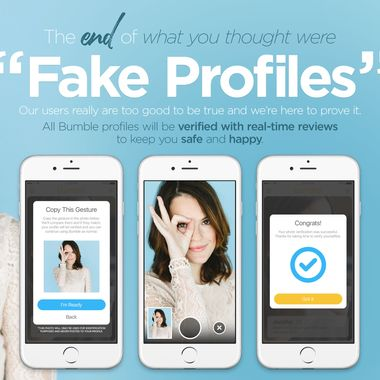 Profiles app dating on bumble fake dating