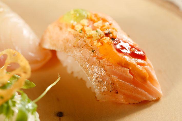 Nigiri at Sushi Seki.