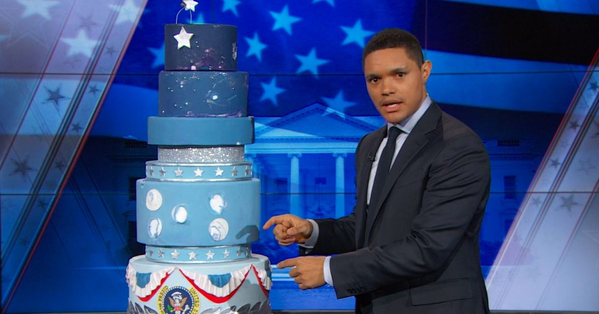 Tell The Daily Show What To Do With Trump S Inaugural Cake