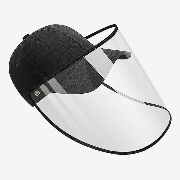 Detachable Adjustment Washable Full Face Protection Baseball Cap